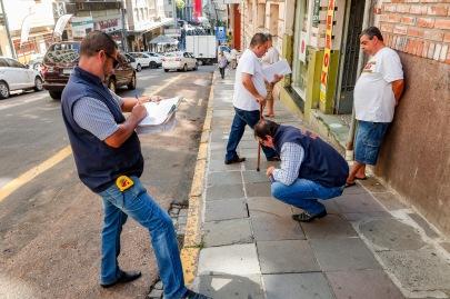 SMIM - Primeira etapa de fiscalização do setor de calçadas no