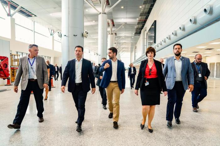 GP - Obras de expansão da nova área do Aeroporto Internacional