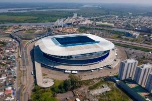 GCS - Foto Aérea da Arena do Grêmio